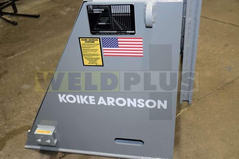 2500 lb Headstock Koike Aronson Positioner