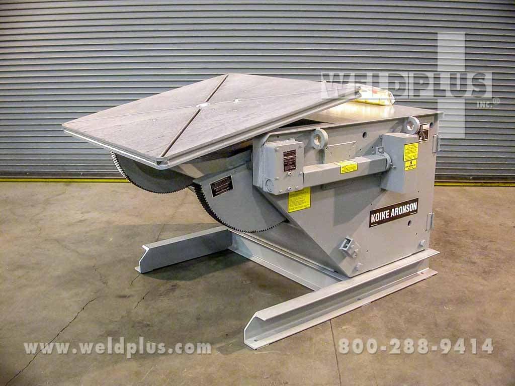10,000 lb. Koike-Aronson Welding Positioner