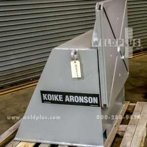 4,500 lb. Koike-Aronson TS4 Tailstock