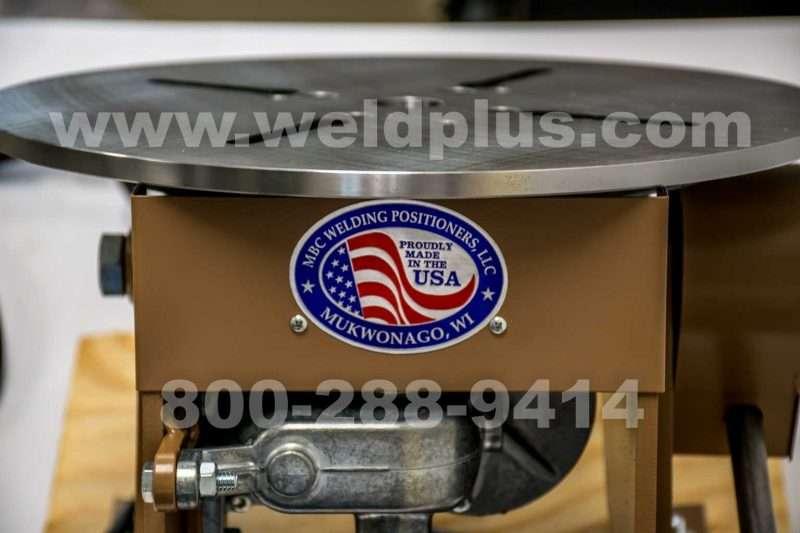 MBC BP2B 200 lb. Welding Positioner