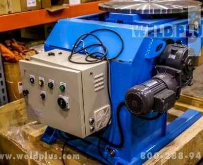3300 lb Gentec Weld Positioner PT1500V