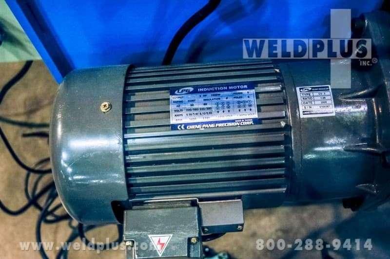 11,000 lb. Gentec Weld Positioner