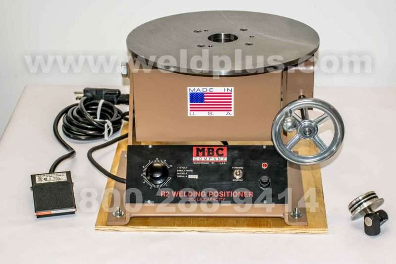 MBC R2 200 lb Welding Positioner | Weld Plus Inc