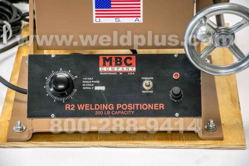 MBC R2 200 lb. Welding Positioner