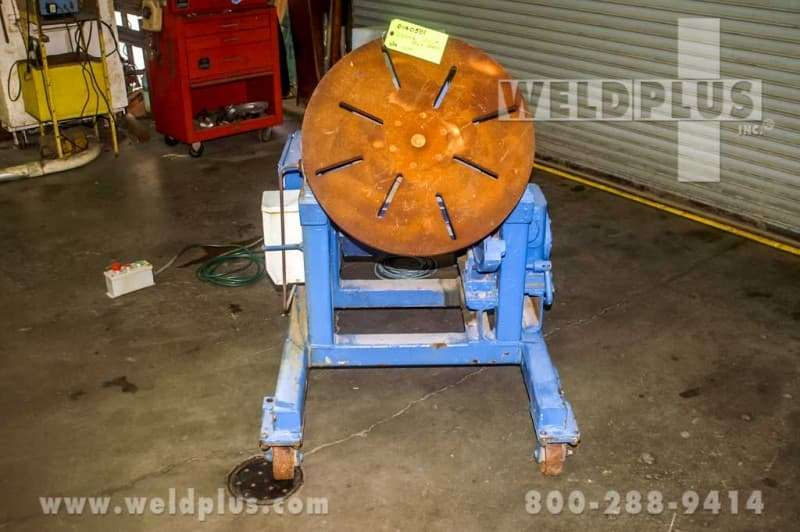500 lb. Used High Speed Positioner