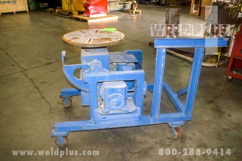 500 lb. Used CTS High Speed Positioner