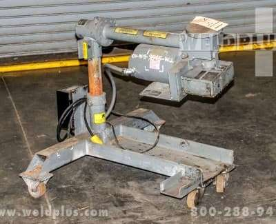 300 lb aronson used weld positioner aw300a