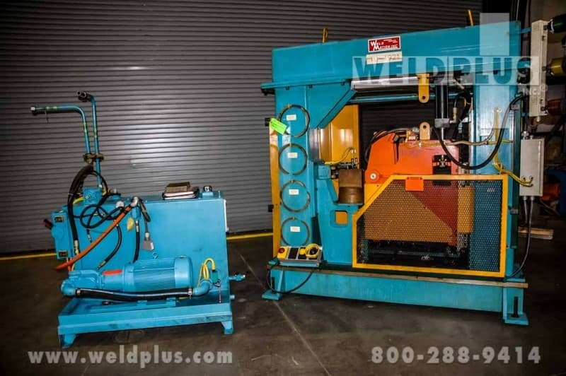 Used Weldmation Vertical Weld Planisher