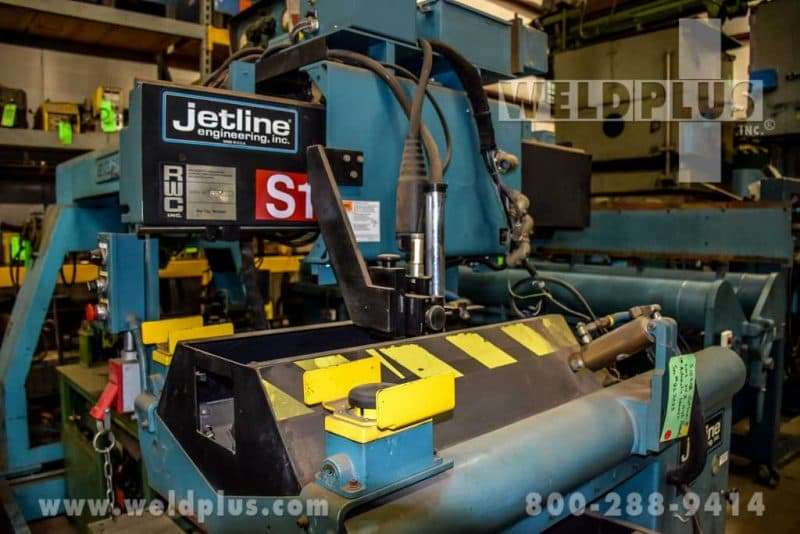 Jetline Automatic Seam Welder LWS-24Z