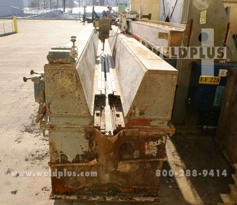 20 ft. Flat Sheet Welding Seamer Pandjiris