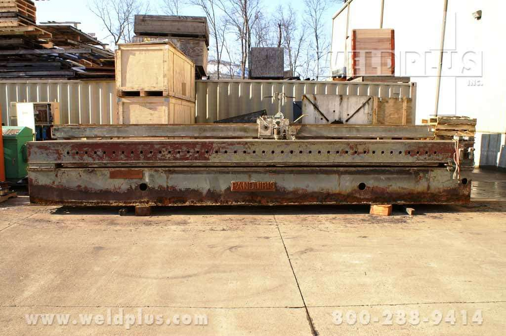 20 ft. Flat Sheet Welding Seamer Pandjiris