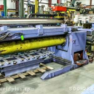 10 ft. Flat Plate Cylinder Cloos Seam Welder