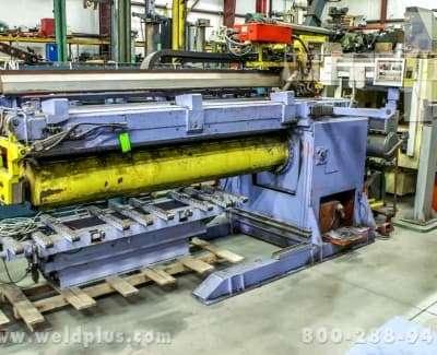 10 ft Flat Plate Cylinder Cloos Seam Welder