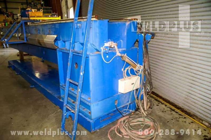 20 ft. Binzel Seam Welder Used