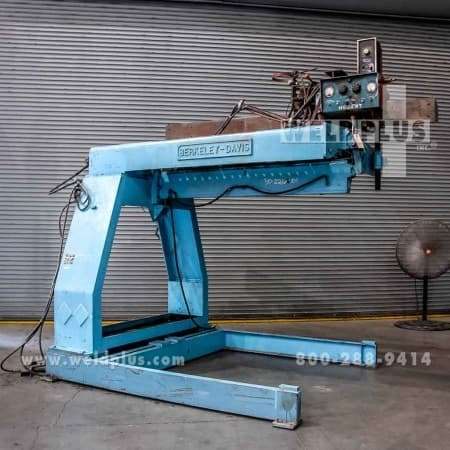 5 ft. Welding Seamer Berkeley Davis Model S2