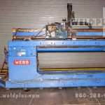 80 inch Webb Seam Welder Model J80
