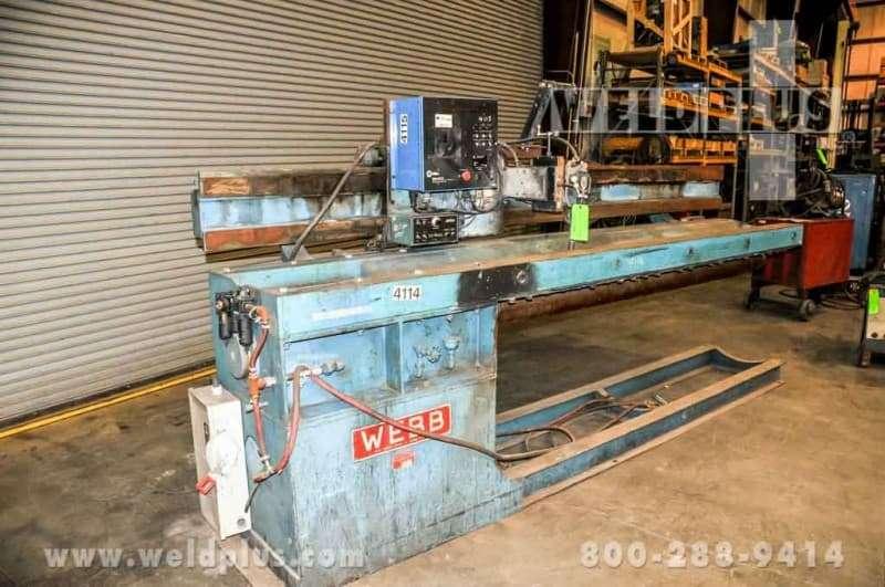 104 inch Welding Seamer Webb J104