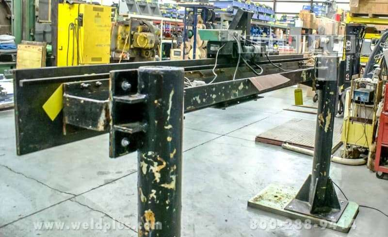 10 ft. Linde Side Beam Welding System