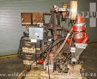 55 ft Lincoln Welding Side Beam and carriage