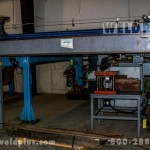 8 ft Linde Side Beam TIG Welding System