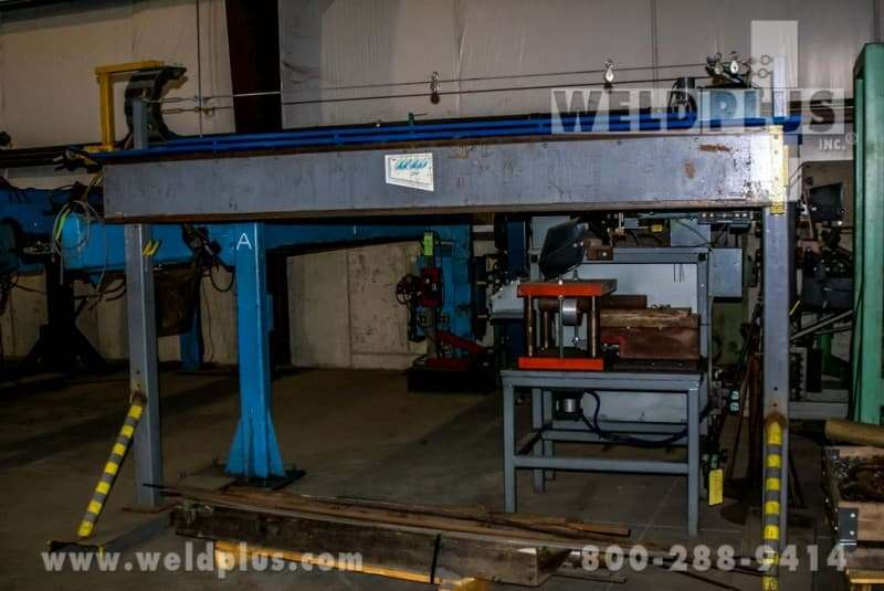 8 ft. Linde Side Beam TIG Welding System
