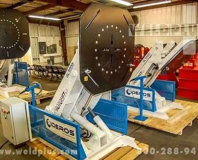 6610 lb Sideros Weld Positioner