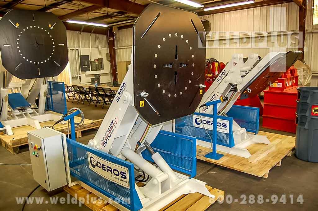 6,610 lb. Sideros Weld Positioner