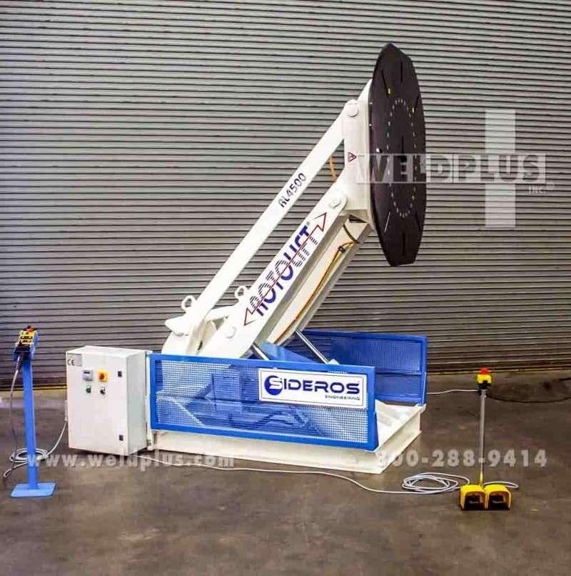 9,920 lb. Sideros Welding Positioner