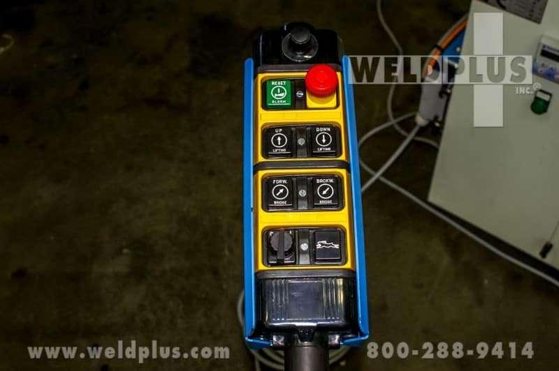 18,730 lb. Sideros 3 Axis Hydraulic Positioner