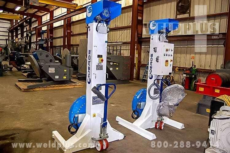 Sideros 13,300 lb. Syncrolift Headstock Tailstock Set