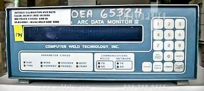Arc Welding Monitor Computer Weld Technology