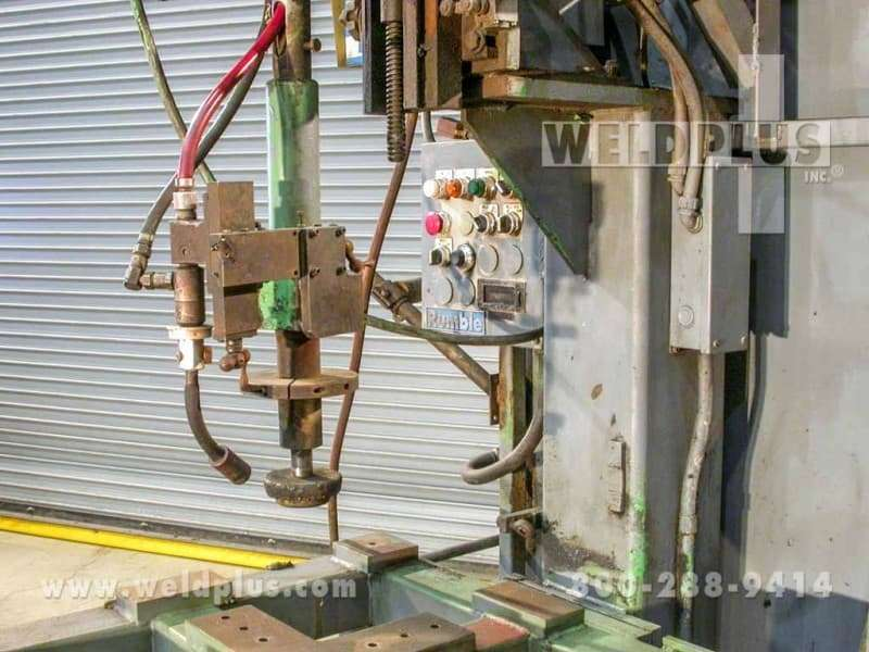 Used Rumble Automated Circle Weld-a-Round
