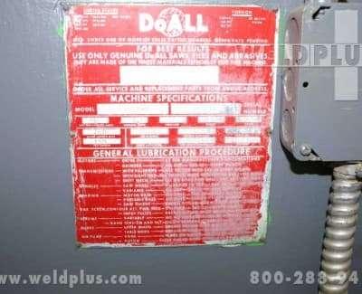 DoAll Vertical Band Saw Model 3012-U