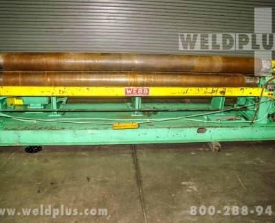 Webb Plate Bending Roll R3R-8010
