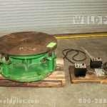 2,000 lb. Teledyne Readco Welding Turntable