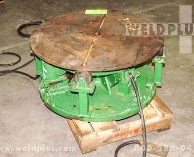 2000 lb Teledyne Readco Welding Turntable