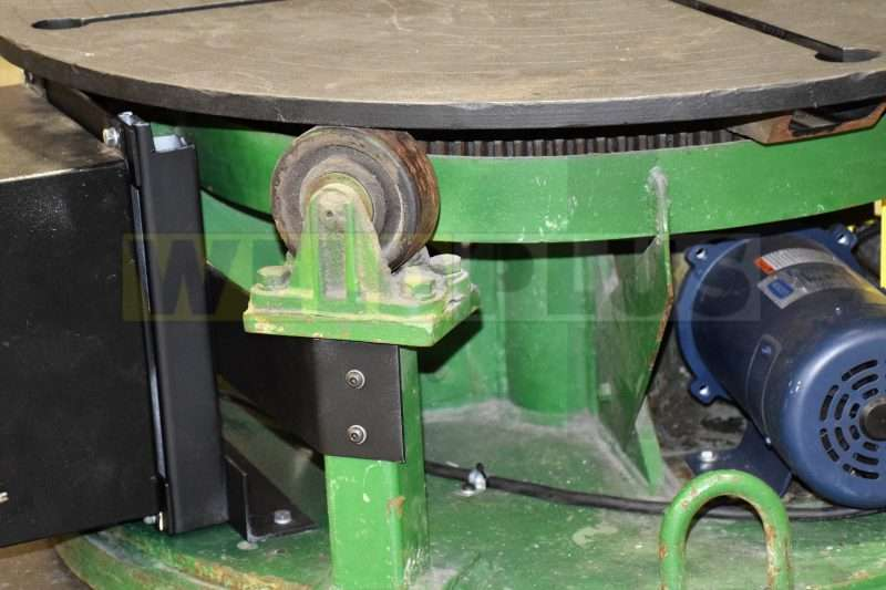 2000 lb Teledyne Readco Weld Turntable