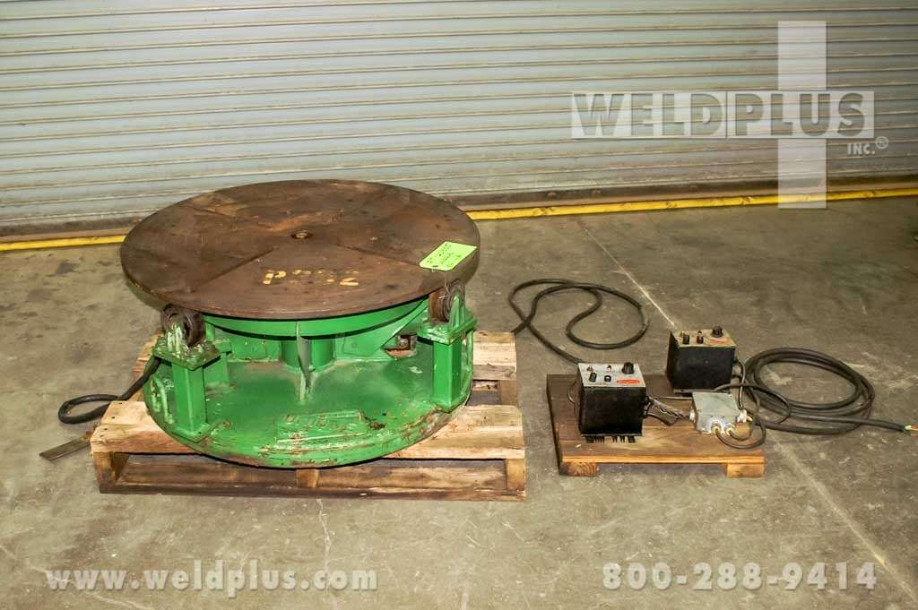 2,000 lb. Teledyne Readco Welding Turntable