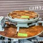 2,000 lb. Keystone Used Welding Turntable