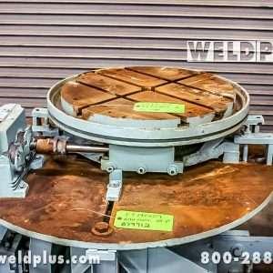 2,000 lb. Keystone Used Welding Turntable