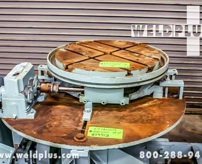 2000 lb Keystone Used Welding Turntable