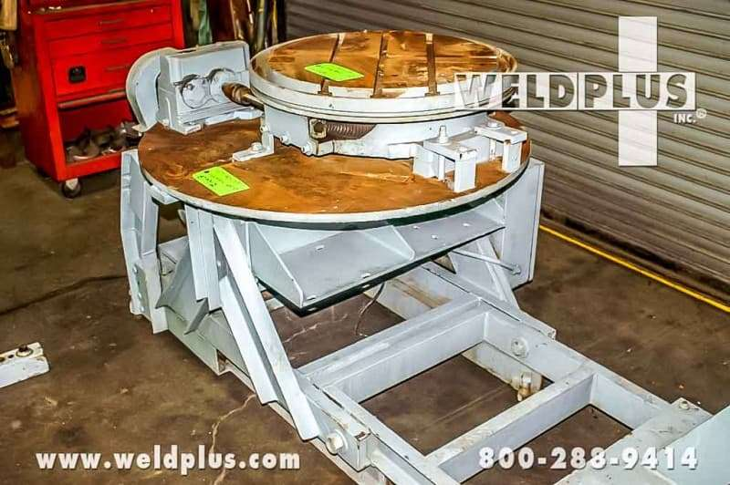2,500 lb. Ransome Welding Turntable