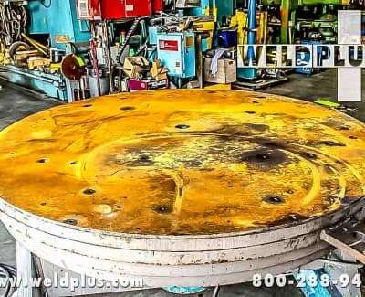 16000 lb Worthington Welding Floor Turntable