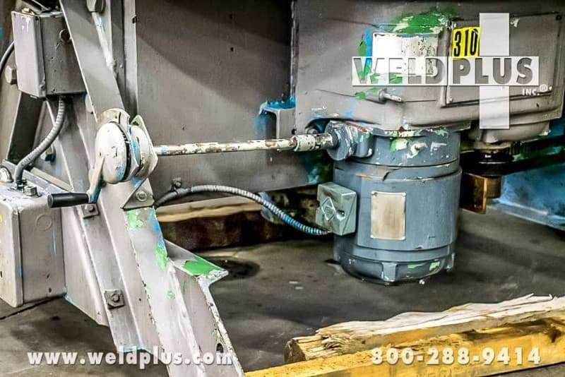 16,000 lb. Worthington Welding Floor Turntable