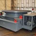 100 Ton VMW Welding Floor Turntable