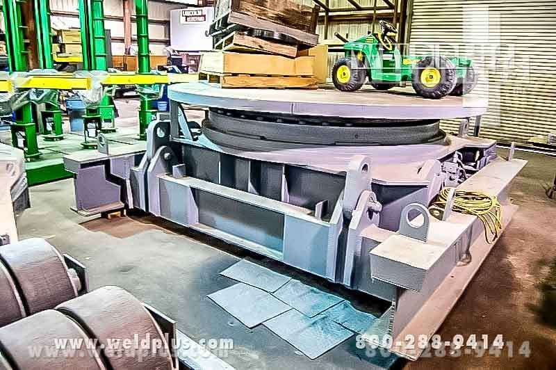 100 Ton VMW Welding Floor Turntable