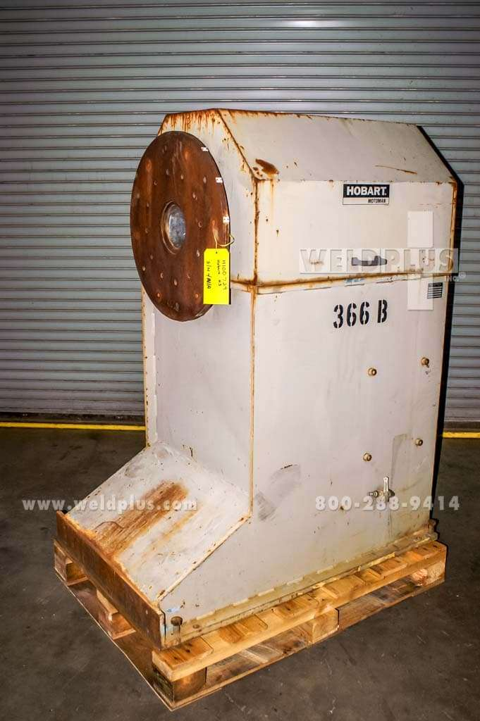 1,000 lb. Hobart Motoman Robotic Headstock