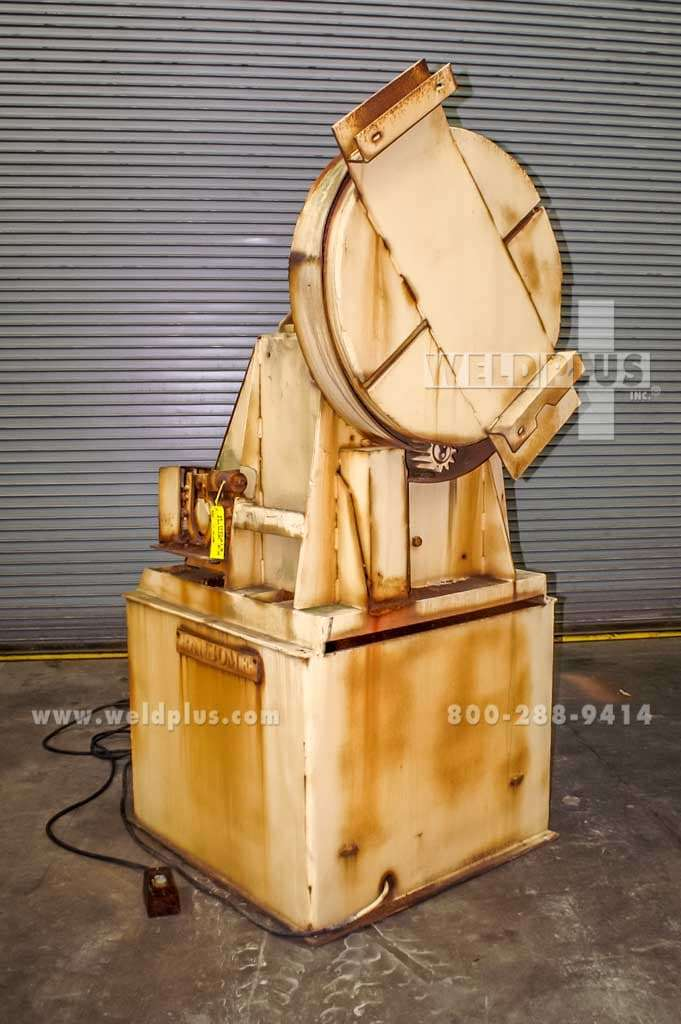 10,000 lb. 5H Ransome Welding Headstock