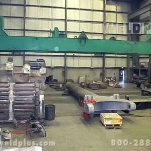 120 Ton Aronson Dual Welding Headstocks