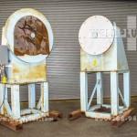 12,000 lb. Kress Headstock Tailstock